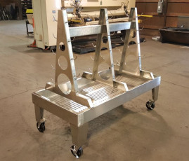 Sanitary Tube Wash Down Cart