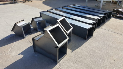 Steel Square Ductwork