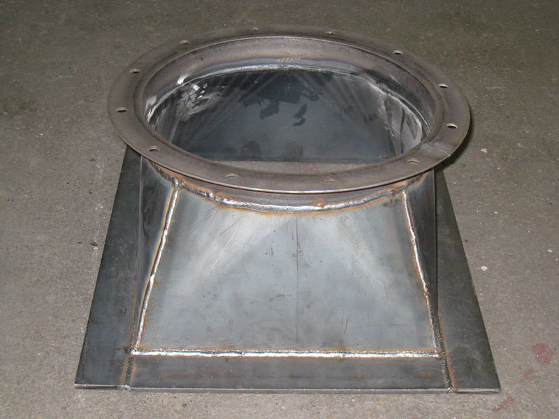 Industrial Ductwork Elemetal Fabrication And Machine