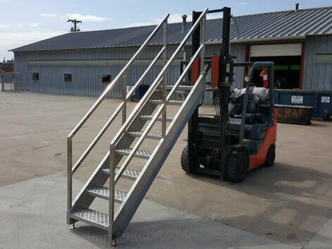 Industrial Stairs, Catwalks & Ladders
